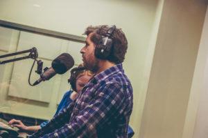Tom Helsen in de studio