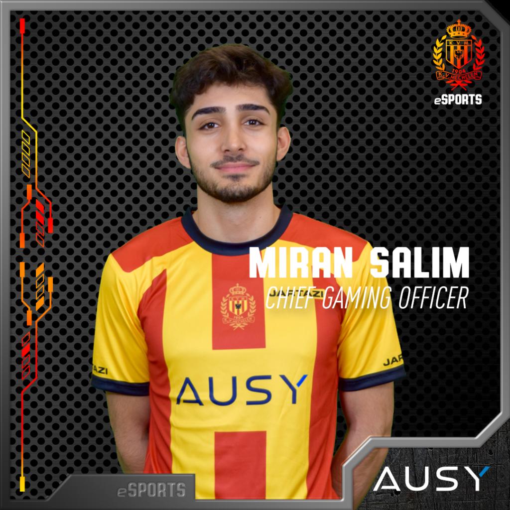 Miran Salim is aangenomen als gaming chief officer.