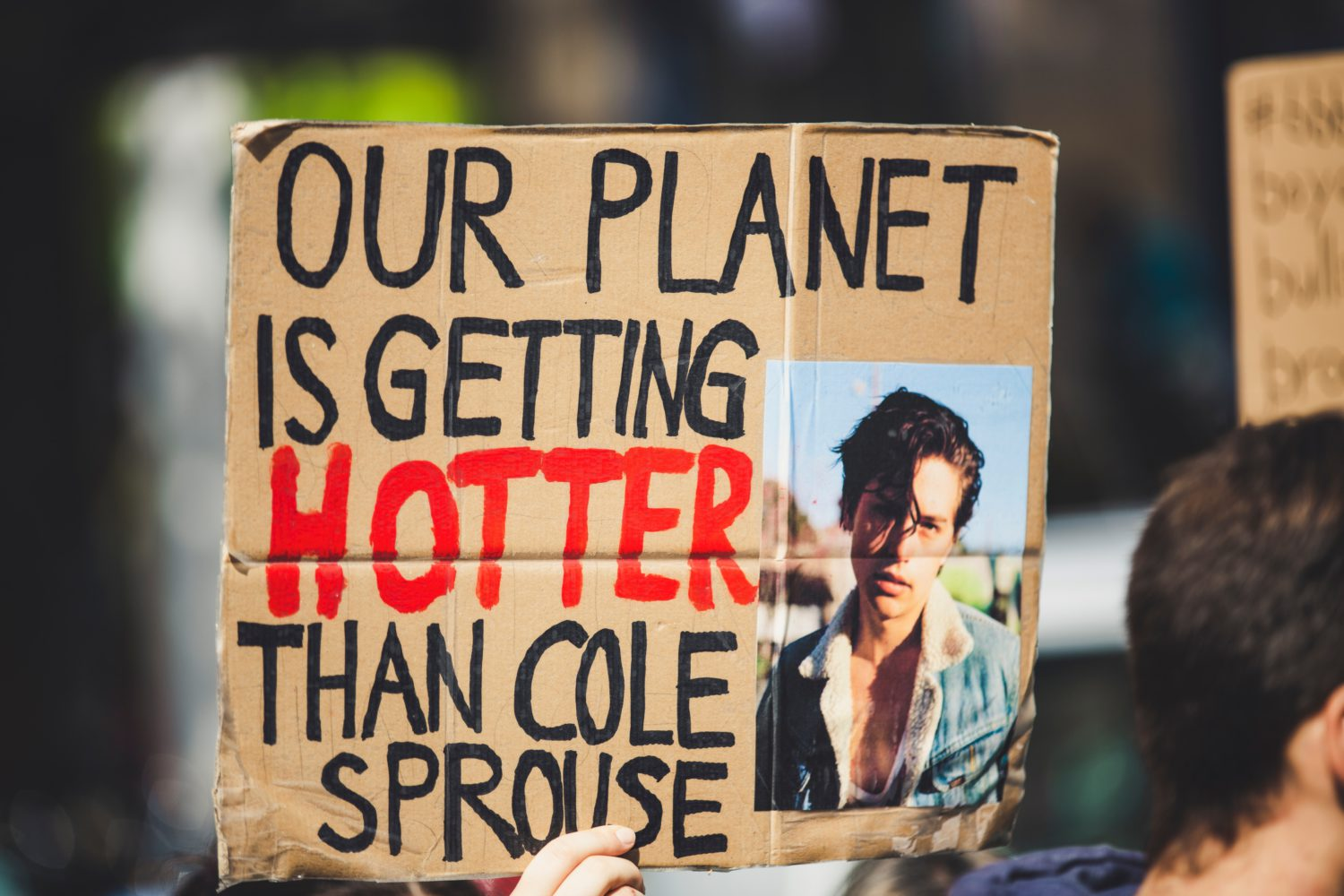 Protest for climate change