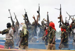 Riots in the Niger delta