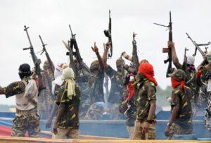 Riots in the Niger delta