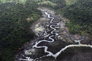 Oil pollution in Nigerdelta