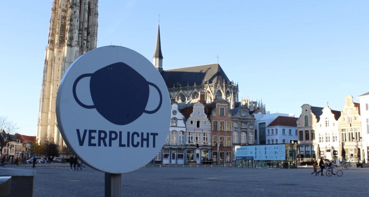 Mechelen mondmasker verplicht